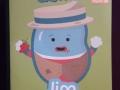 free bean and gone mini sticker book