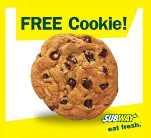 Free Cookie on your Birthday Free Cookie on your Birthday