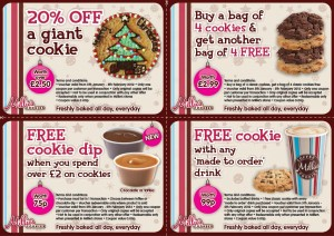 millies cookie coupon