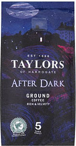 Free Pack of Taylors of Harrogate After Dark Roast Ground Coffee Free Pack of Taylors of Harrogate After Dark Roast & Ground Coffee
