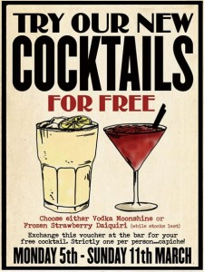 Free Cocktail from Revolution