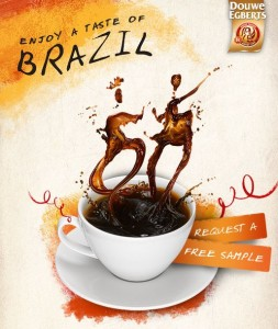 Free Sample of Douwe Egberts Brazilian Samba Coffee 253x300 Free Sample of Douwe Egberts Brazilian Samba Coffee