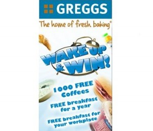 Free Coffees Croissants from Gregg 300x257 Free Coffees & Croissants from Gregg
