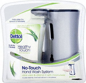 Free Dettol No Touch Hand Wash System Free Dettol No Touch Hand Wash System (Normal Price £10)