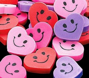 Free Heart Shaped Rubber Free Heart Shaped Rubber