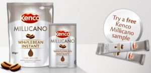 Free Kenco Millicano Coffee Free Kenco Millicano Coffee (Live Again 10,000 a Month)