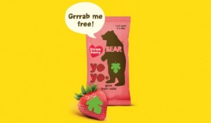 Free Pack Bear Nibbles Strawberry Rolls – Printable Voucher (Normal Price 69p)
