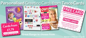 Free Personalised Greeting Card – Worth £1.49