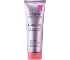 Free Sample of L'Oreal Paris Hair Expertise EverPure Colour Care & Moisture Shampoo