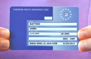 Free European Health Insurance Card