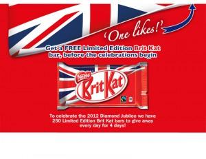 Free Limited Edition Kit Kat Bar