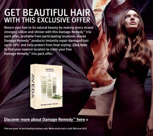 Free Aveda Damage Remedy Haircare