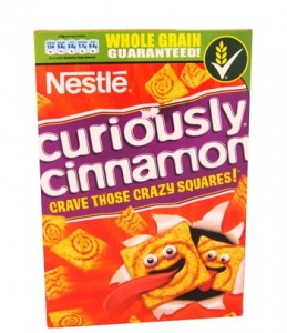 Free Boxes of Curiously Cinnamon Cereal