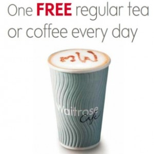 Free Tea or Coffee as a myWaitrose Member 300x300 Free Tea or Coffee as a myWaitrose Member