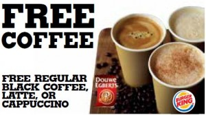 Free Coffee at Burger King 300x167 Free Coffee at Burger King