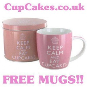 Free Keep Calm And Eat Cupcakes Mug