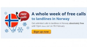 Free Calls to Norway 300x162 Free Calls to Norway