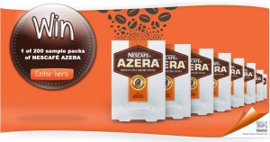 Free Nescafe Azera Coffee 300x158 Free Nescafe Azera Coffee