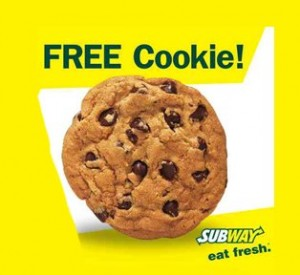 Free Subway Cookie 300x275 Free Subway Cookie
