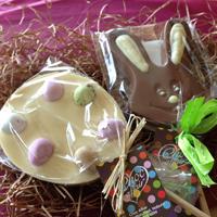 Free Fairtrade Chocolate Easter Lollipop
