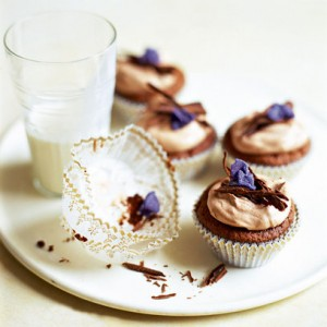 Chocolate Almond Cupcakes 300x300 Free Cupcake Recipes