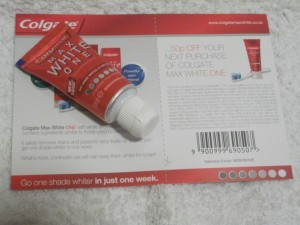 Free Colgate Max White One Toothpaste 300x225 Free Colgate Max White One Toothpaste Sample