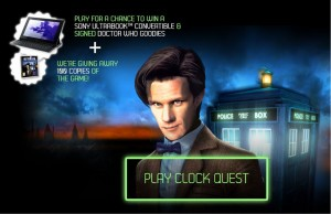 Free Dr Who 'The Eternity Clock' PS3 Game
