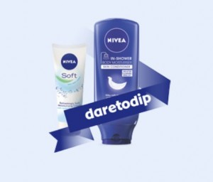Free Nivea Daretodip Kit
