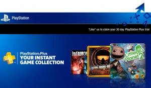 One Month Free Playstation Plus Membership