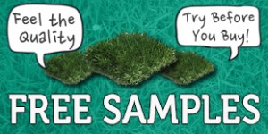 5 Free Samples of Atrificial Grass 300x150 5 Free Samples of Artificial Grass