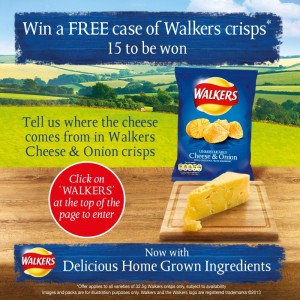 Free Case of Walkers Crisps 300x300 Free Case of Walkers Crisps