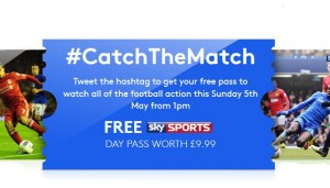 Free Sky Sports Day Pass