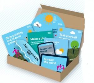 Free Stress Toy & NHS Quit Kit