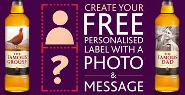 free father s day the famous grouse personalised labels freesamples