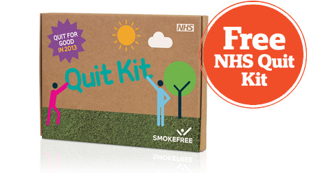 Free Stop Smoking Kit