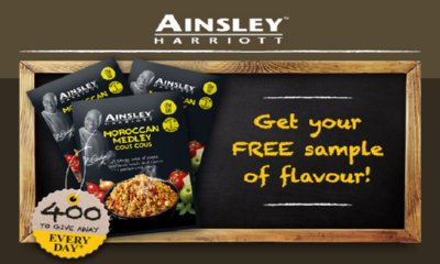 Free Pack of Ainsley Harriott Cous Cous