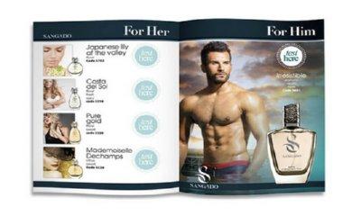 Free Sangado Perfume Sample