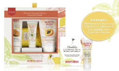 Free Burt's Bees Cleanser