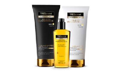 Free TRESemme Oleo Radiance Shampoo, Conditioner & Oil
