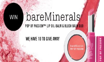 Free bareMinerals Pop of Passion