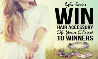 Free Love Lylas Floral Hair Garland
