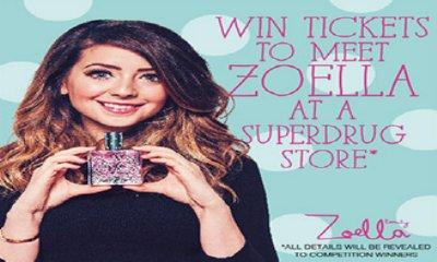 Meet YouTuber Zoella & Superdrug Freebies