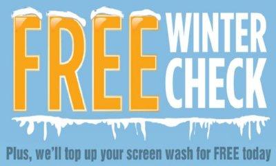 Free Winter Check at Halfords