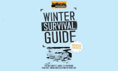 Free Halfords Winter Survival Guide