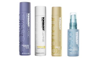 Free Toni & Guy Haircare Products