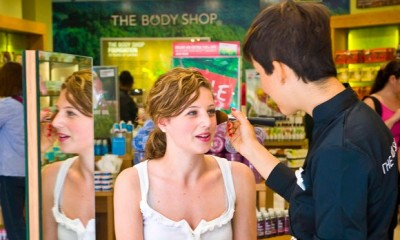 Free Makeover and Samples from The Body Shop
