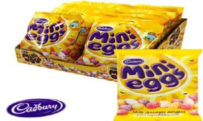 Free Bag of Cadburys Mini Eggs