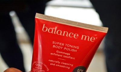 Free Toning Body Polish by Balance Me