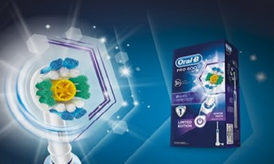 Free Oral-B Pro 600 Electric Toothbrush