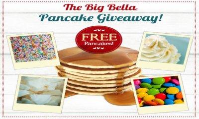 Free Pancakes at Bella Italia